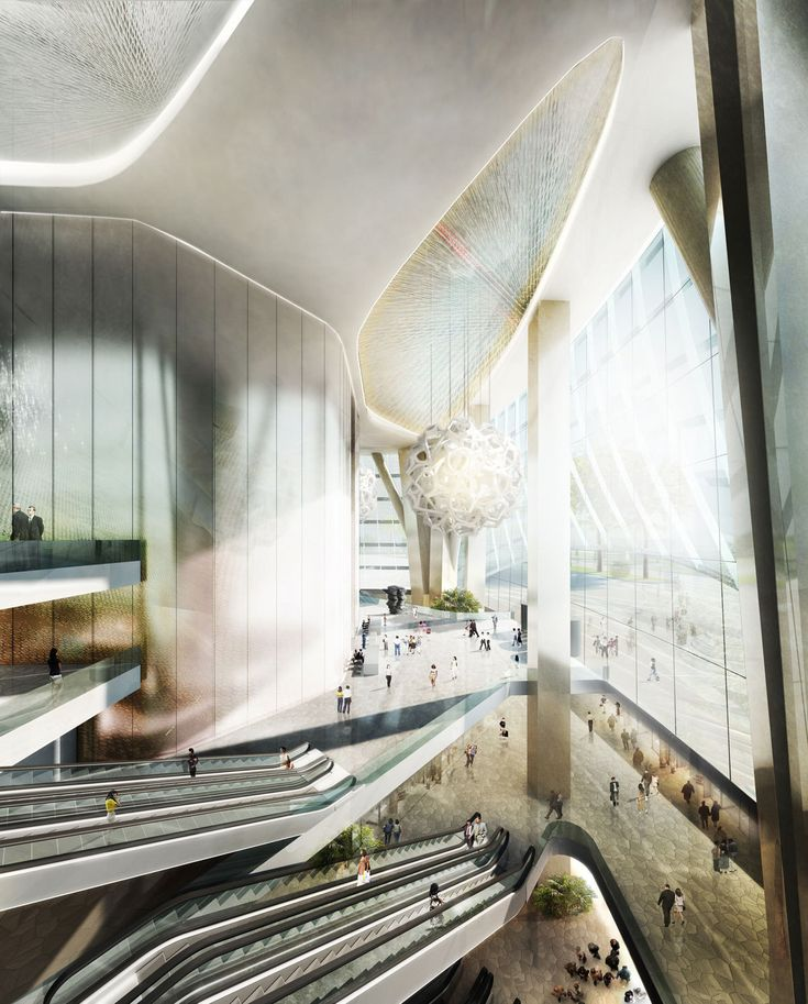 Image 18 of 20 from gallery of Haikou Tower Competition Winner / HENN. Courtesy of Henn Architects