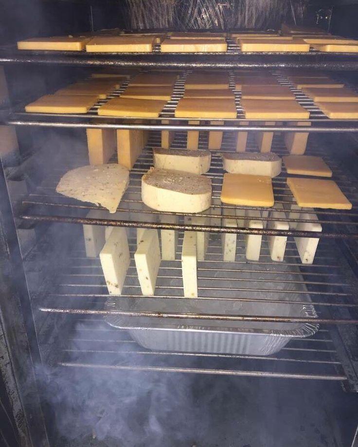 Cold Smoked #Cheese by EFGM in his SmokinTex 1500-CXLD #electricsmoker. #Texas…