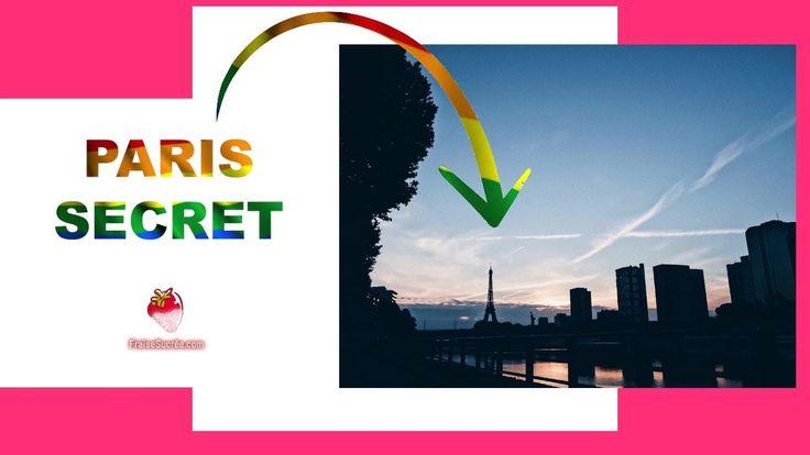 Paris Secret • La Seine & la Tour Eiffel | fraisesucree.com