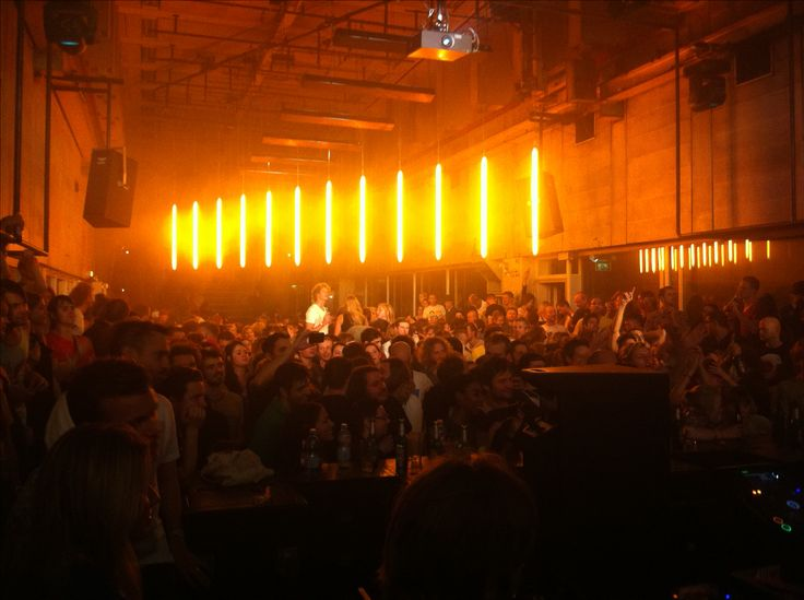 Trouw - Nightclub, restaurant, cultural/art space. Underground feel. [CLOSED]