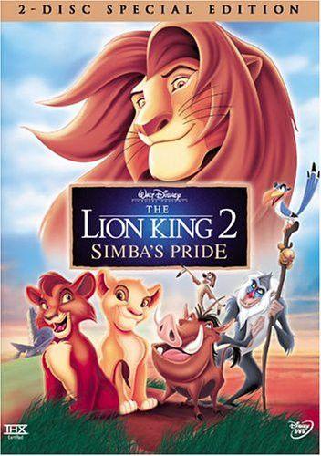 Lion King 2 Simba's Pride (Disney Special Edition, DVD)
