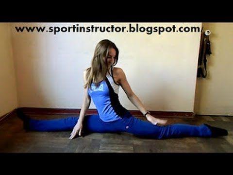 C mo hacer spagat tutorial split youtube gimnasia - Como hacer gimnasia en casa ...