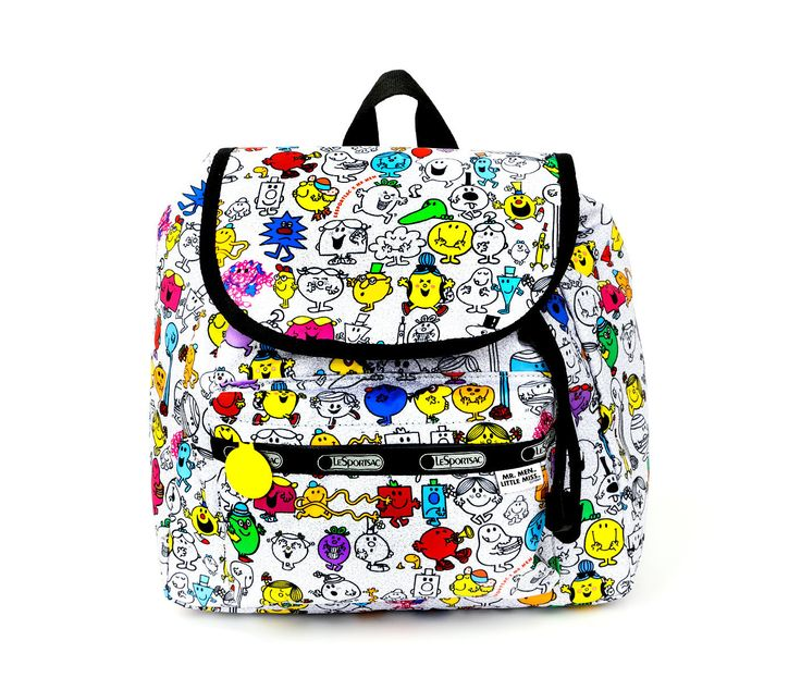 Mr. Men Little Miss x LeSportsac Small Edie Backpack: Multi-Character Print