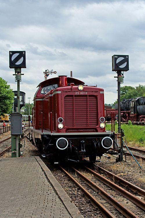 Im Eisenbahnmuseum in Bochum Dahlhausen