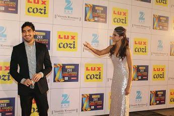 Deepika Padukone and Ayan Mukerji in playfull mood at the Lux Cozi Zee Cine Awards 2014. Ashok Todi and Pradeep Kumar Todi and myself attended the event as Title Sponsors. by Priyanka Todi - Google+
