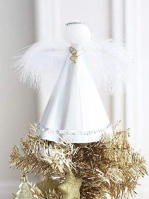 Make a Christmas angel for the tree