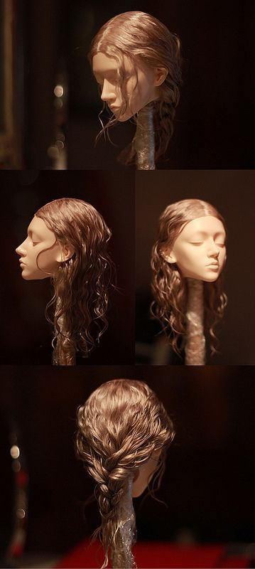 Wig in process, парик в процессе | Flickr - Photo Sharing!
