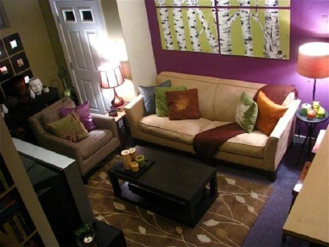 Apartment living room ideas on a budgetsmall apartment for Apartment room decorating ideas