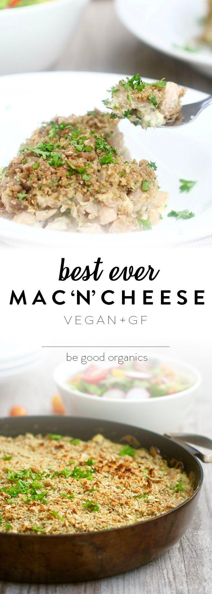 Best Ever Macaroni Cheese - Be Good Organics