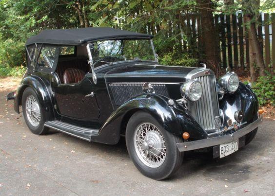 1936 Talbot London Ten Tourer -