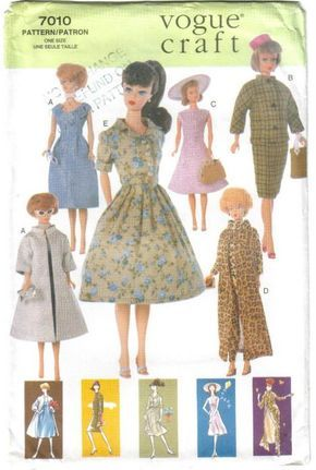 167 best Teenage doll sewing patterns images on Pinterest | Barbie ...