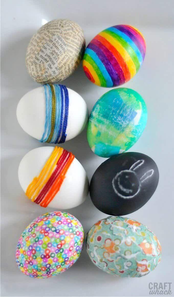 5 Alternative Easter Egg Ideas In 2020 Easter Eggs Easter Egg Decorating Easter Egg Crafts Easter Egg Decorating Easter Egg Crafts Egg Decorating