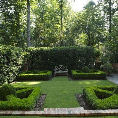 French Country Garden Design | Symmetrical French Country Garden Design, Pictures, Remodel, Decor and ...