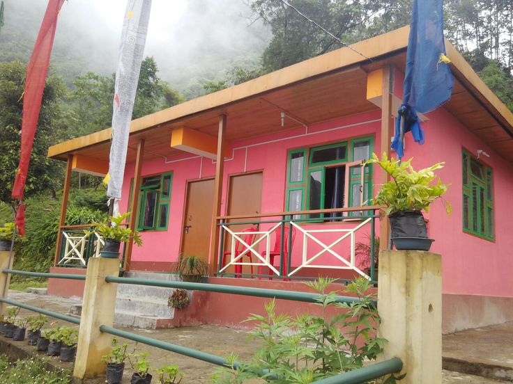 Charming Home stay In Yangang Sikkim India