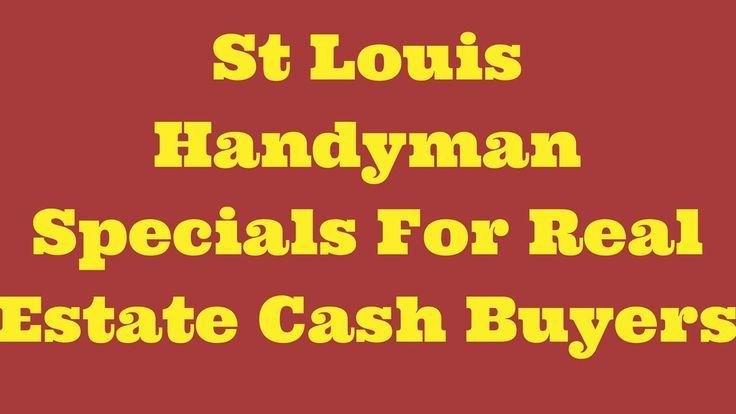 St Louis Handyman Specials For Real Estate Cash Buyers...#wholesalerealestate #wholesalerealestateinvesting #realestateinvesting #flippinghouses #flippinghomes #stlouisrealestate