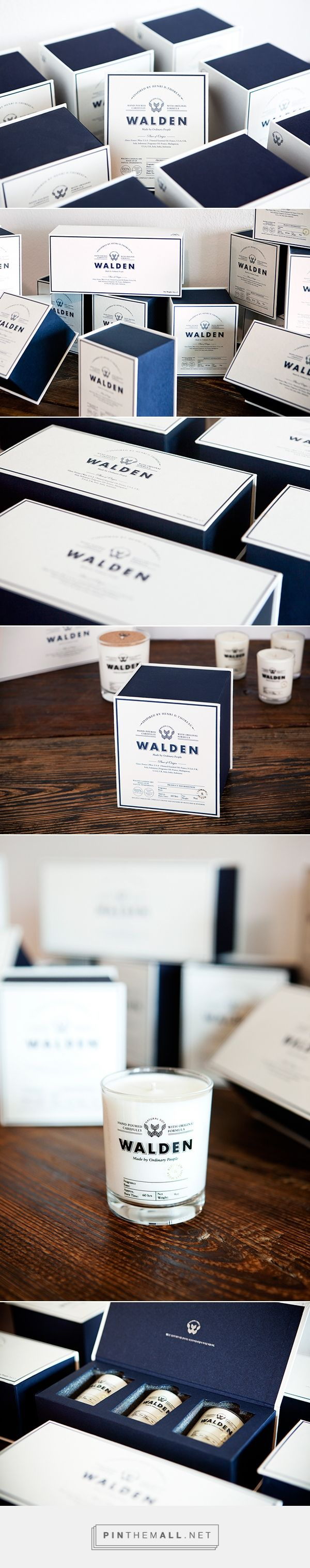 WALDEN - natural soy candle brand based in Korea