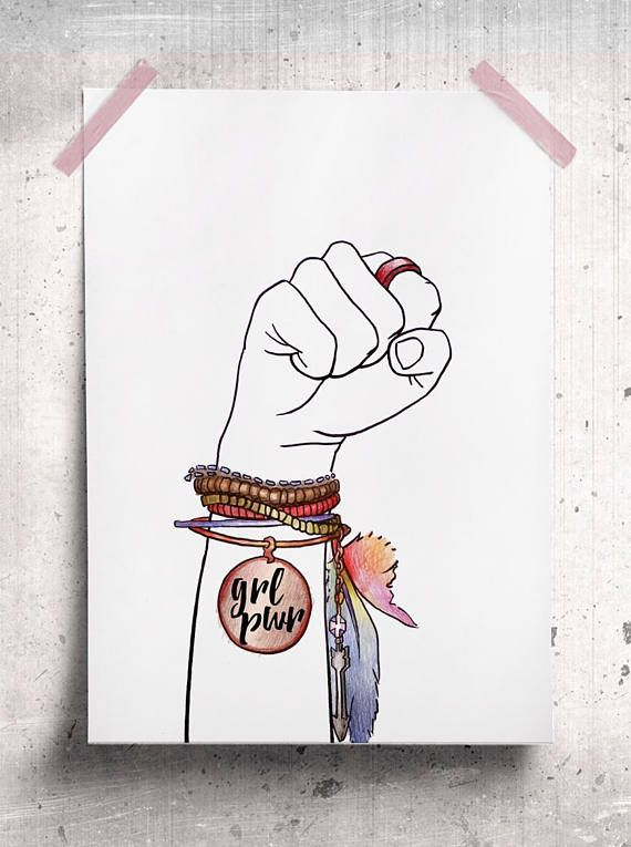 This Item Is Unavailable Etsy Girl Power Art Feminist Art Girl Tattoos