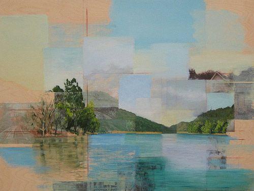 Artist painter Ryan M. Reynolds paintings.