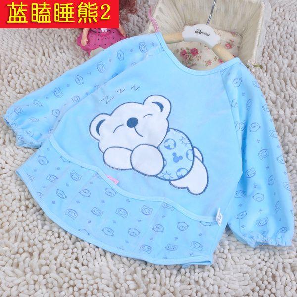Одежда для малышей из Китая :: Детские пальто на осень/зима водонепроницаемый анти-износа длинные одежды, питание ребенка одежду нагрудники фартук детей Рисование одежды дизайнер одежды.
