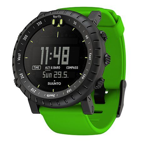 Altimeter and barometer keep you informed Compass for guidance Storm alarm for added safety