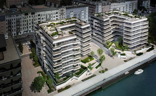 'Wave' - Berlin's New Waterfront Apartment Complex - TheUrbanDeveloper.com