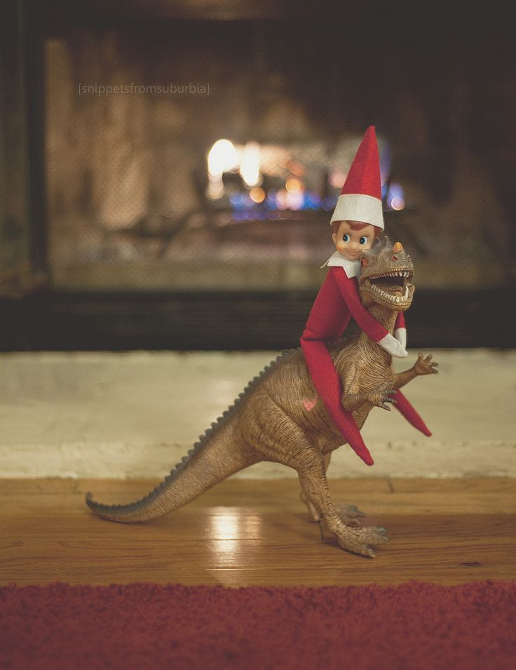 Does your family have an Elf on a Shelf? If so, you may be aware of the tradition with the Elf of putting him in different settings. Remember that the Elf watches your children and reports directly to Santa, to let him know if they are nice or naughty (not-so-nice). So one of the fun …