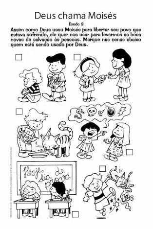 Resultado de imagem para ebd infantil atividades | Ensino Religioso ...