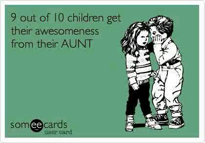 Being an Aunt