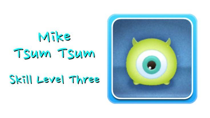 Mike Wazowski Tsum Tsum Skill Boom