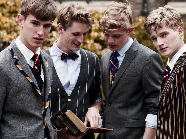 Prep school uniform blazers, I bet you all know which one is my favourite (left;) )