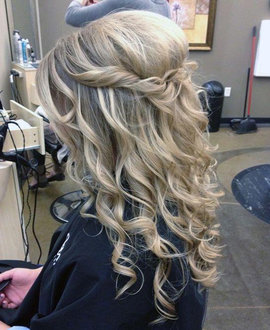 fryzury długie z lokami