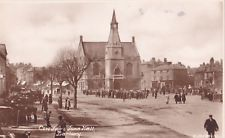 Vintage Postcard of Cow Fair & Town Hall, Banbury