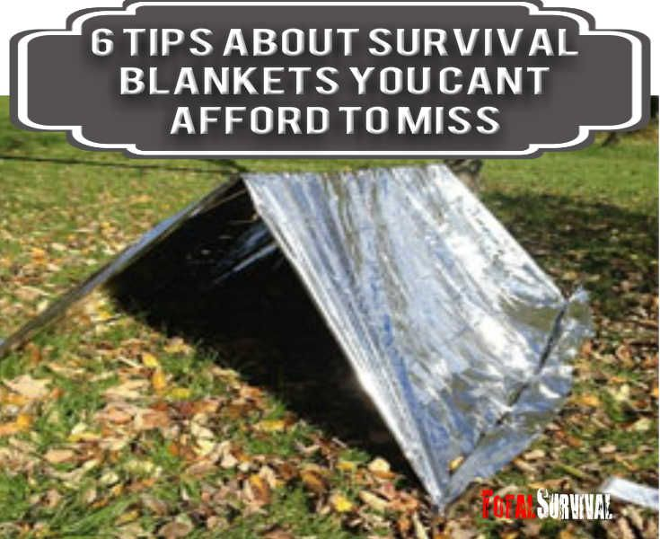 You're About to Discover 6 Tips About Survival Blankets You Can't Afford To Miss. http://totalsurvival.net/6-tips-about-survival-blankets-you-cant-afford-to-miss/