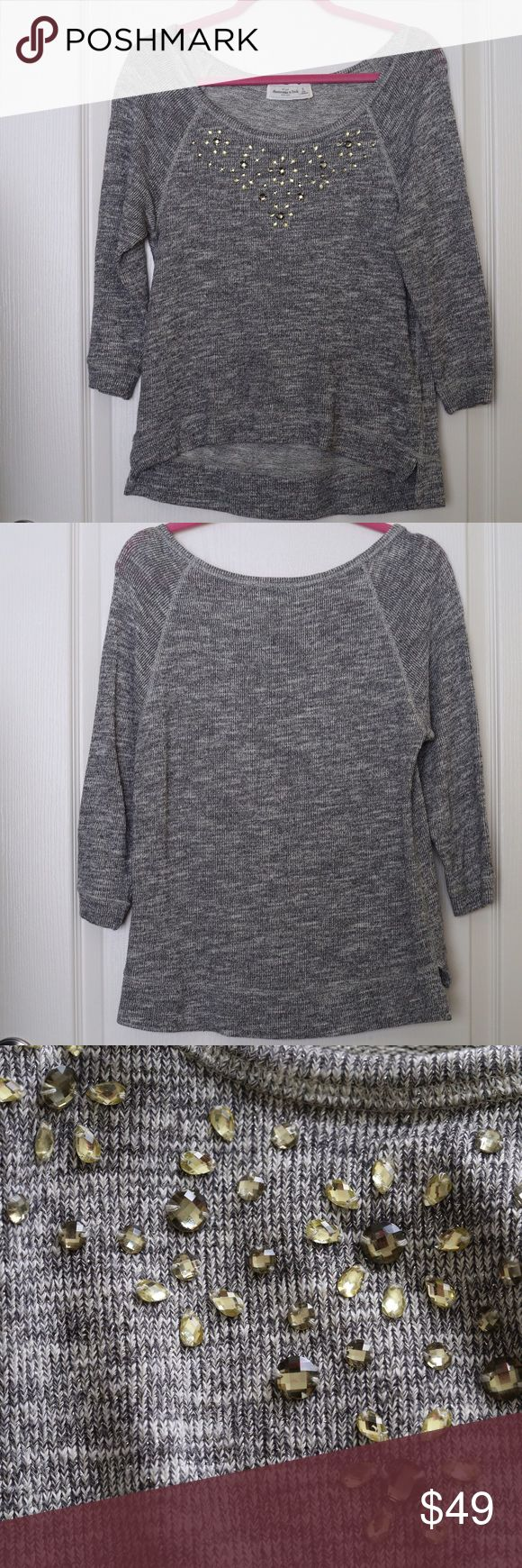 Abercrombie&fitch embellished Sweater Size S Abercrombie&fitch embellished Sweater Size S Abercrombie & Fitch Sweaters