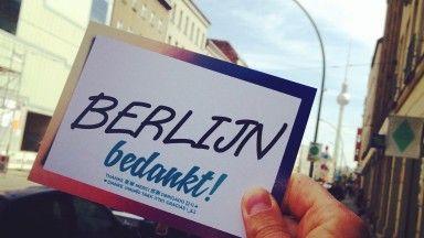 #Wunder_bedankt Berlijn