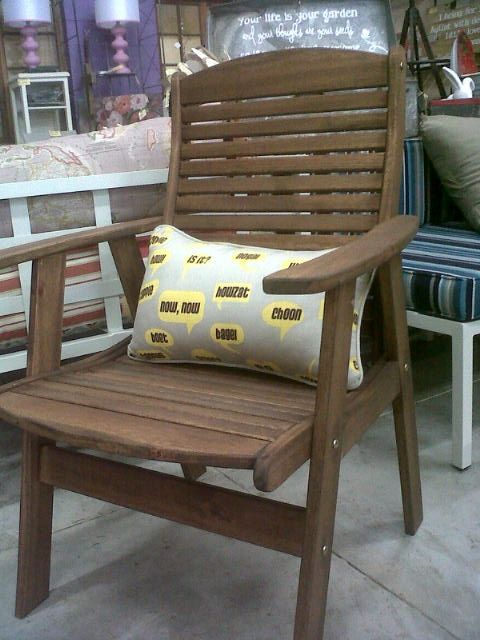 Kudu Arm Chair - by far one of the most comfortable dining chairs you will find.