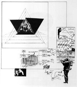 La Casa telematica: la cellula abitativa, Ugo La Pietra, 1971-1972