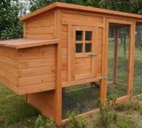 Awesome chicken coop! I WILL have chickens when I move, here hopefully in the near future!