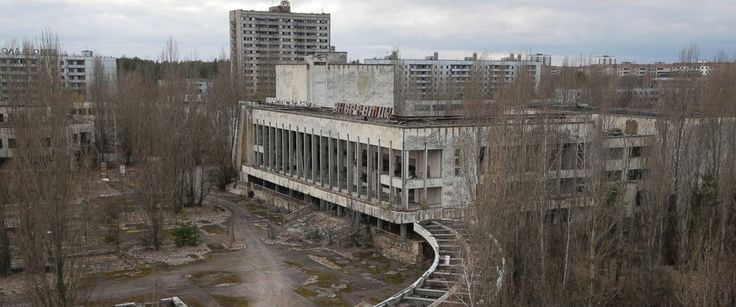 Chernobyl today... still desolate and void of people