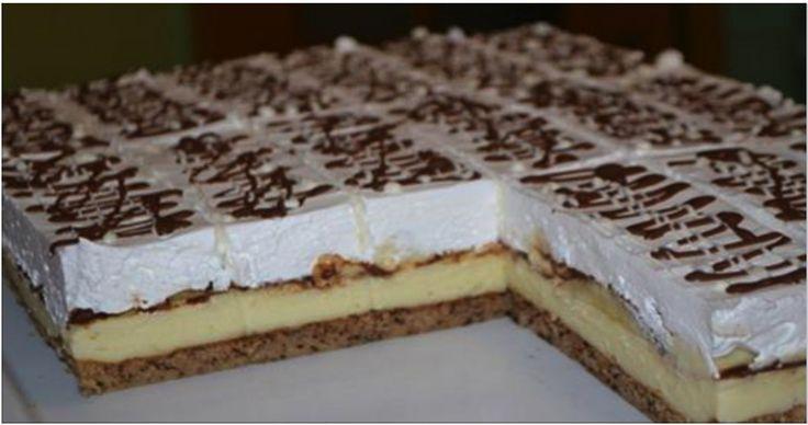 Lahodný tvarohový koláč BANANITA s báječnú chuťou!