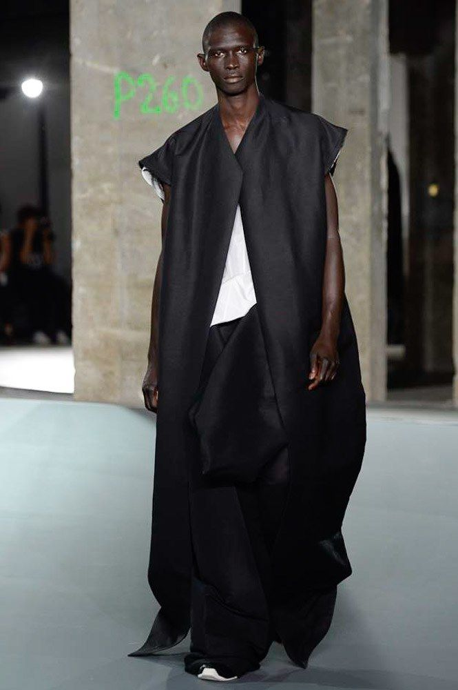 Visions of the Future // Rick Owens Spring 2017 Menswear Fashion Show