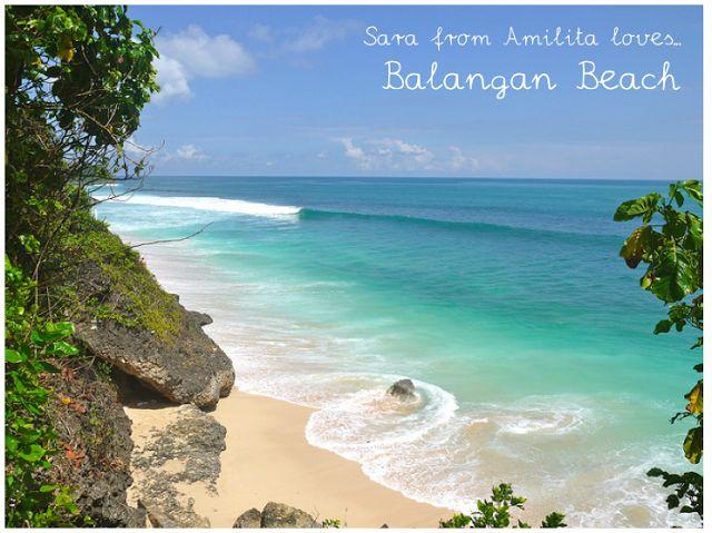 Balangan Beach Bali, beautiful Bali beach