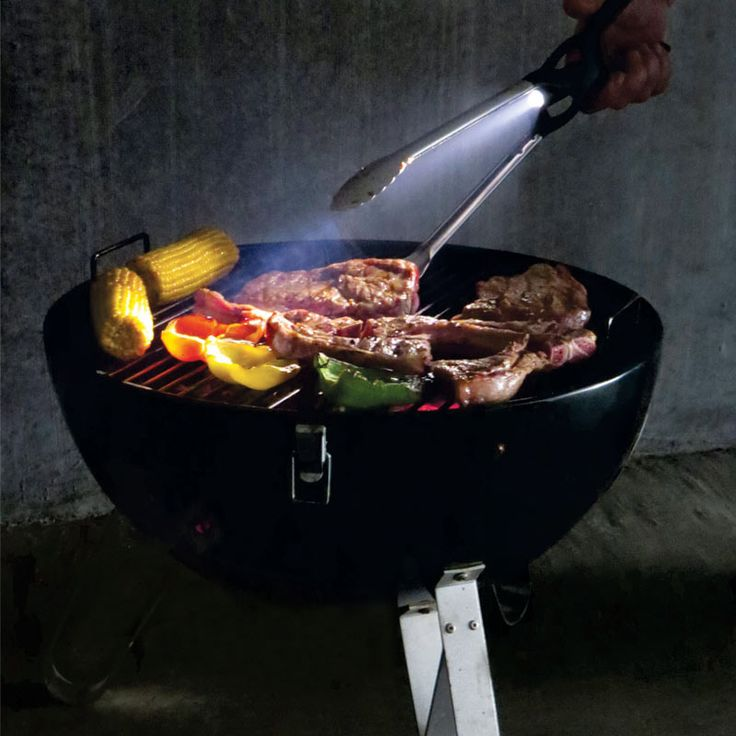 Braai Tongs with Light | Corporate Gifts Coolers Picnic Outdoor Outdoor in South Africa Tonglite BBQ Tongs with Torch #braai #braaigifts #braaiday #cookingutensils #cooking #giftideas  www.brandinnovation.co.za