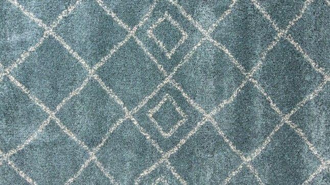 Vloerkleed Nowhere Teal Blue Brinker Carpets