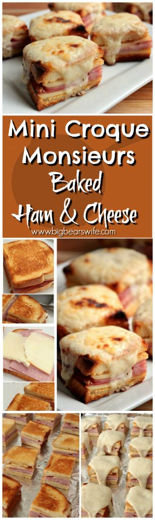 croque monsieur baked ham and bechamel sauce on pinterest. Black Bedroom Furniture Sets. Home Design Ideas