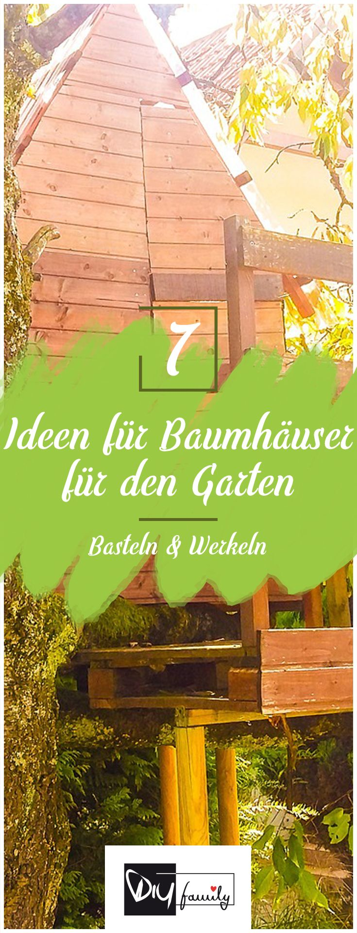 Good Baumh user f r den Garten Ideen rund ums Thema treehouse garden