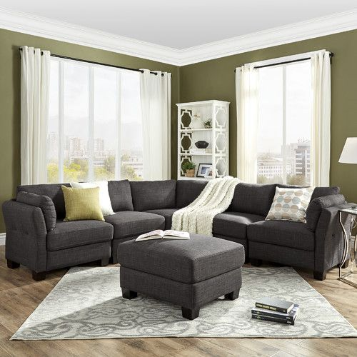 Found it at Joss u0026 Main - Nolan Reversible Chaise Sectional : joss and main sectional - Sectionals, Sofas & Couches
