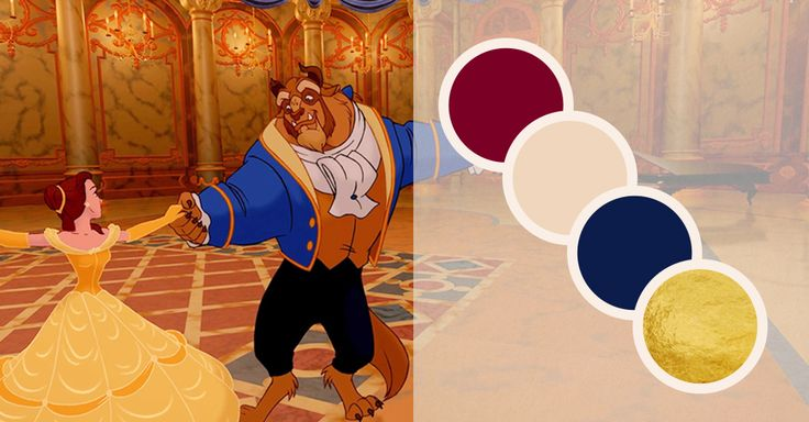 I got Beauty and the Beast! Quiz: What Themed Wedding Colors Are For You? | Living