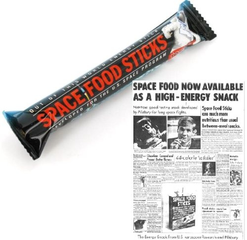 astronaut snacks from the 70s - photo #13