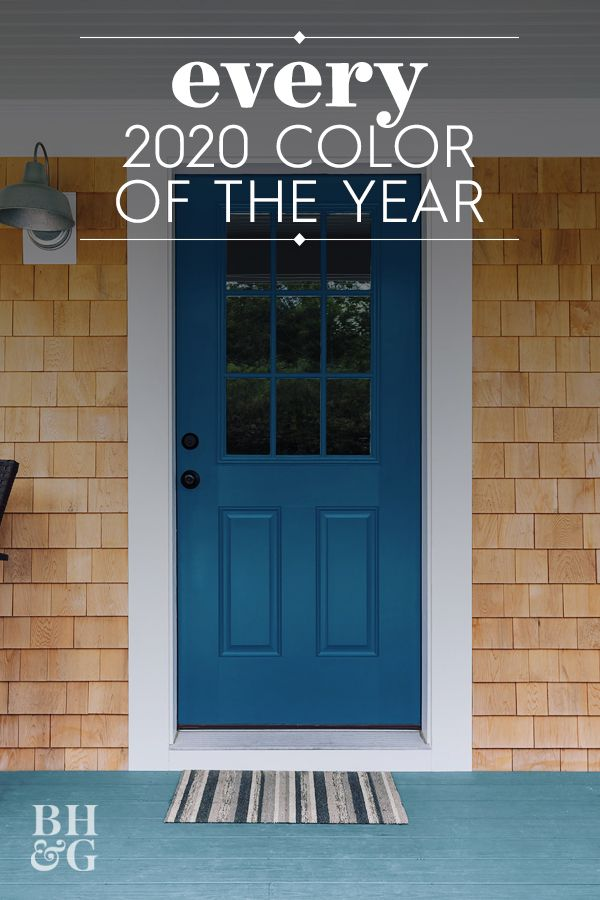 Etsy Just Announced Its 2020 Color Of The Year Exterior Paint Colors For House Paint Colors For Home Best Front Door Colors